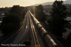 12 Trains Beautiful British Columbia Photo By Thanasis Bounas